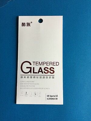 AU5.99 • Buy Premium Quality Ultra Clear Tempered Glass Screen Protector For Sony Xperia XZ