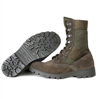 $64.54 • Buy Men's Combat Boots Tactical Military Garsing Hiking Leightweight Olive Green