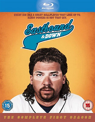 EASTBOUND AND DOWN COMPLETE SERIES 1 Blu-ray 1st First Season One UK Release R2 • 7.99£