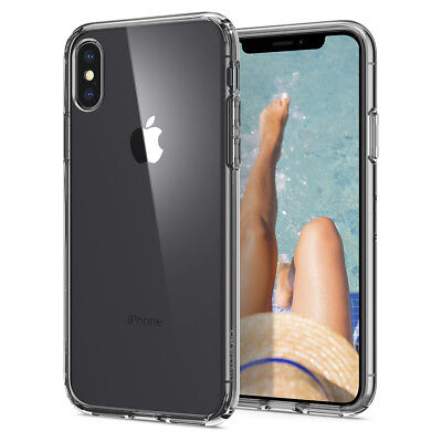 AU17.35 • Buy IPhone XS X XS MAX XR Ciel [Cecile] Clear Pattern Protective Hybrid Cover Case