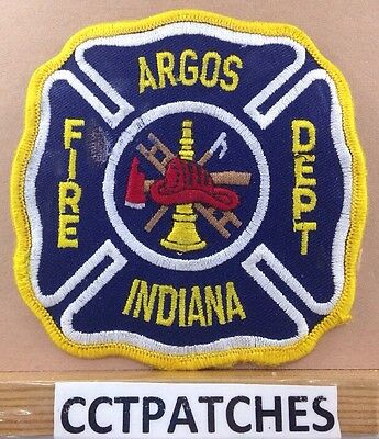 AU7.72 • Buy Argos, Indiana Fire Department Patch