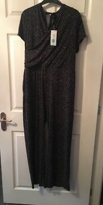 £14.99 • Buy Per Una Marks & Spencer M&S Jump Suit All In One Play Suit Size 14 BNWT £45