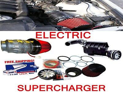 $298.98 • Buy Fit For Ford Power Performance Electric Air Intake Supercharger Fan Motor Kit