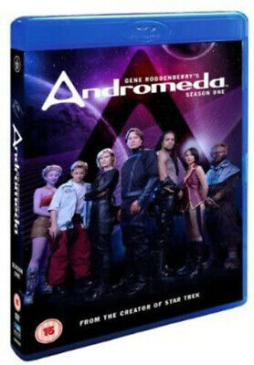 ANDROMEDA COMPLETE SERIES 1 Blu-ray 1st First Season One Original UK Release   • 19.99£