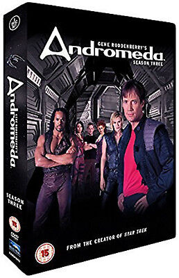 ANDROMEDA COMPLETE SERIES 3 DVD 3rd Third Season Three Original UK Release R2 • 15.99£