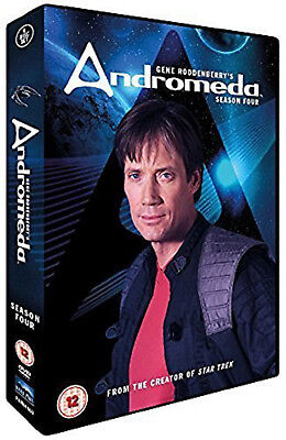 ANDROMEDA COMPLETE SERIES 4 DVD 4th Fourth Forth Season Four Original UK Release • 19.99£