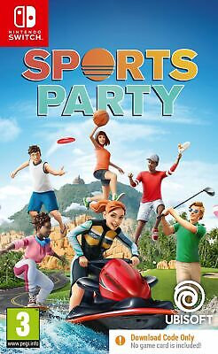 £9.99 • Buy Sports Party CODE-IN-A-BOX   (Switch) Brand New & Sealed Free UK P&P UK PAL