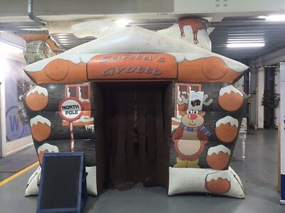 Santas Grotto Inflatable Unit Pop Up Christmas Business Opportunity • 700£