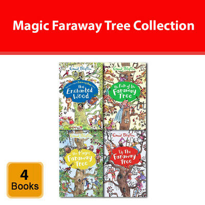 £15.60 • Buy The Magic Faraway Tree Series Enid Blyton Collection 4 Books Set Pack NEW
