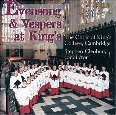 £8.36 • Buy The Choir Of Kings College Cambridge - Evensong And Vespers At Kings [CD]