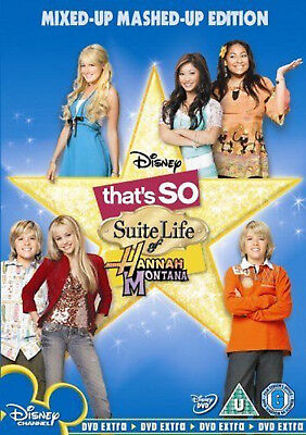 THAT'S SO SUITE LIFE OF HANNAH MONTANA DVD Miley Cyrus Raven UK Release New R2 • 8.05£