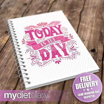 WEIGHT WATCHERS COMPATIBLE FOOD DIARY - Today Is The Day (W024W) 12wk Tracker • 5.95£