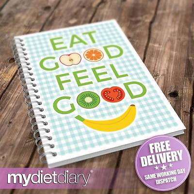 WEIGHT WATCHERS COMPATIBLE FOOD DIARY - Eat Good Feel Good (W021W) 12wk Notebook • 5.95£