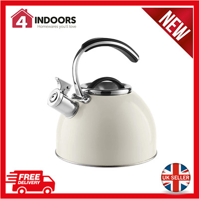 Morphy Richards 974760 3 Litre Stove Top Whistling Kettle In Ivory - Brand New • 17.95£