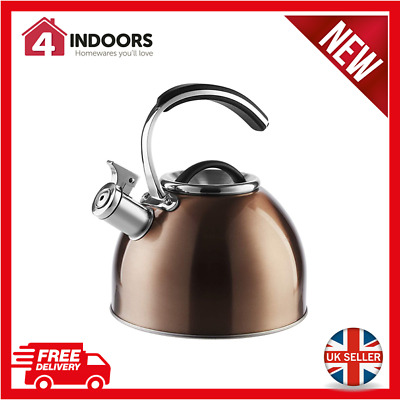 Morphy Richards 974758 3 Litre Stove Top Whistling Kettle In Copper - Brand New • 21.99£
