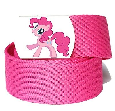 $8.81 • Buy Girls Kid Children Pink My Little Pony Sports Pants Canvas Buckle Belt Accessory