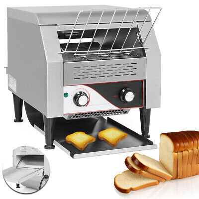 2.2KW Commercial Conveyor Toaster Electric Toaster Restaurant Bagel Food Bread • 361.54$