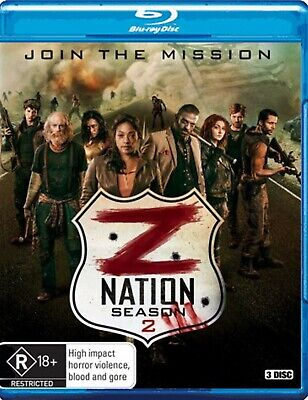 AU17.45 • Buy Z Nation : Season 2 (Blu-ray, 3-Disc Set) NEW/SEALED