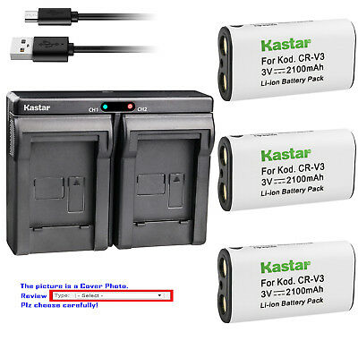$27.99 • Buy Kastar Battery Dual Charger For Olympus LB-01 & D-575 D-580 D-595Z E10 E-100 RS