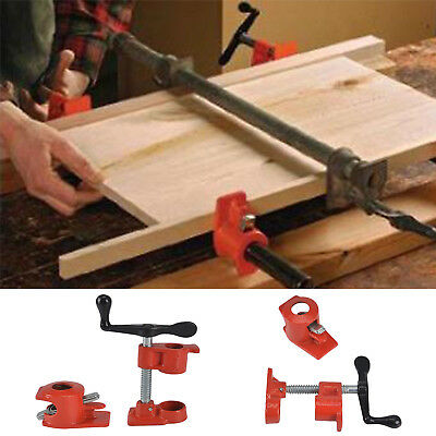 £13.19 • Buy 2x Heavy Duty Quick Release 1/2  Wood Gluing Pipe Clamp Vice Woodworking UK