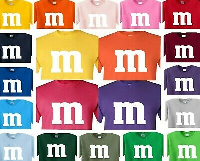 $10.99 • Buy M & M T-Shirt Halloween Costume Group M And M M&M T Shirt M&m Mm Youth & Adult