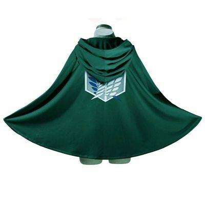 AU23.19 • Buy Adult Anime SNK Shingeki No Kyojin Attack On Titan Wings Of Freedom Cape Cloak