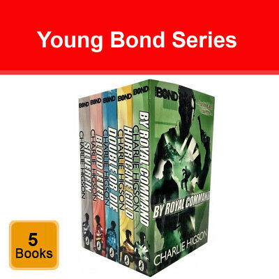 £14.97 • Buy Young Bond Series Charlie Higson Collection 5 Books Set Pack Blood Fever NEW