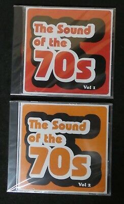 The Sounds Of The 70's Vol 1 And 2    Various Artists  CD New And Sealed (B8) • 2.50£
