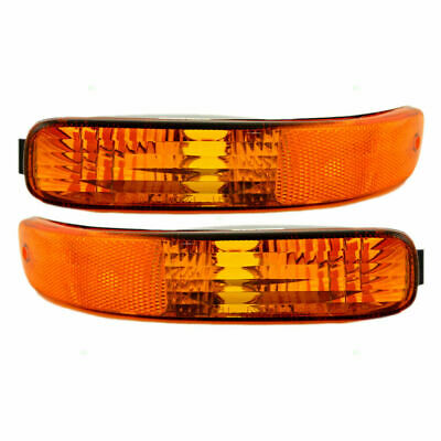 $15.89 • Buy For Jeep Liberty 2002 2003 2004 Front Bumper Signal Blinker Lamp Right & Left