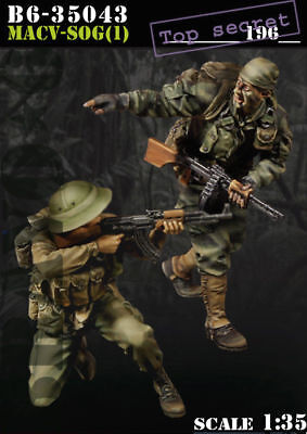 1/35 Scale Resin Figure Kit ~MACV-SOG (1) Vietnam Special Forces • 21.11£