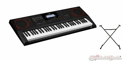 $339.99 • Buy Casio CT-X3000 61-Key Portable Digital Keyboard With Free Stand