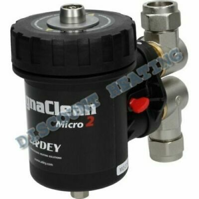 £89.95 • Buy Adey MagnaClean  Micro 2 Magnetic Central Heating Filter 22mm
