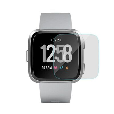 $ CDN5.24 • Buy 9H Tempered Glass Screen Protector Cover Film Case For Fitbit Versa Watch 1/2pcs