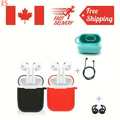 $ CDN8.95 • Buy Silicone Case Cover & Strap Holder For Apple Airpod Air Pod Accessories Airpods