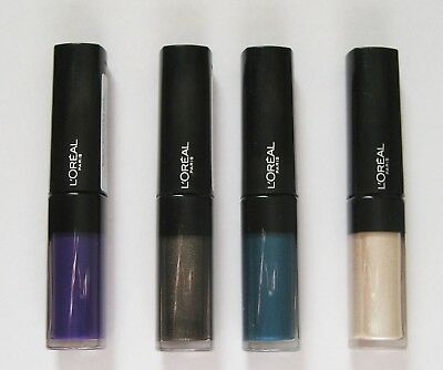 Loreal Paris Infallible Eye Paint 5 Shades  White/Teal/Silver/Purple/Gold • 3.69£