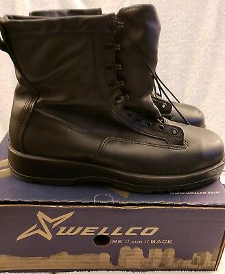 Gortex Flight Deck Safety Boots By Wellco  REDUCED PRICE • 84.82£
