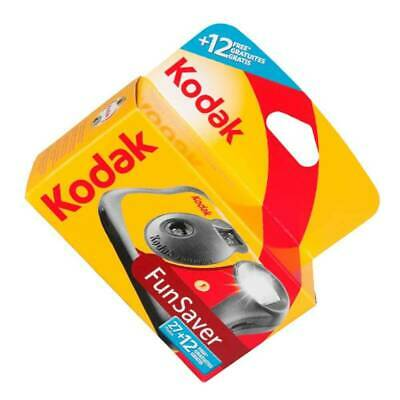 £16.99 • Buy Kodak Disposable Camera For 39 Photos With Flash ISO 800