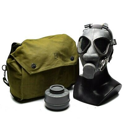 $31.06 • Buy Finnish Army Military Gas Mask Protection Surplus Mask Respirator W Bag Filter