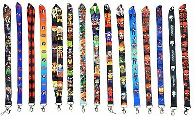 $8.49 • Buy Marvel And DC Comic Hero Lanyards With Clip - ID / Badge Holder ~ Brand NEW