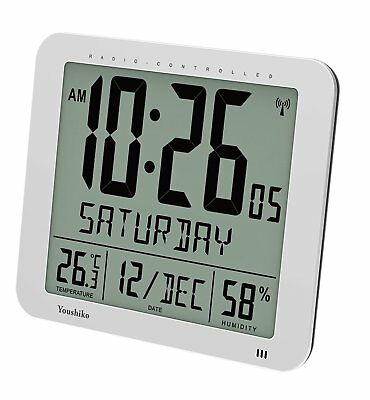 £41.99 • Buy Jumbo Large Radio Controlled Wall Clock ( UK Version ) , Large 3.27 Inches Time