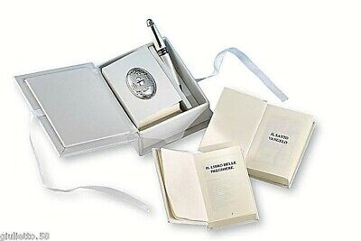 £7.43 • Buy Favours Communion Book House Prayer With Slab Stem Glass Silver 925% 10697
