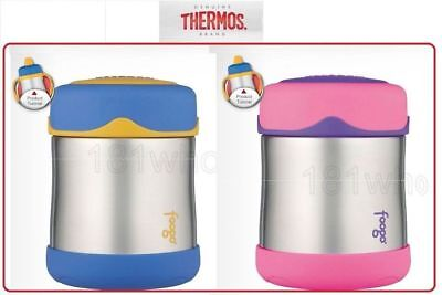 AU33.88 • Buy ❤ Thermos Foogo Leak-Proof Food Jar Container Pink Or Blue 10 Oz 290ml BPA Free❤