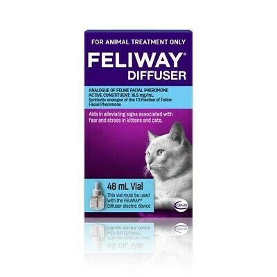 AU39.88 • Buy Feliway Calming Diffuser Refill For Kittens & Cats 48ml (F8051)