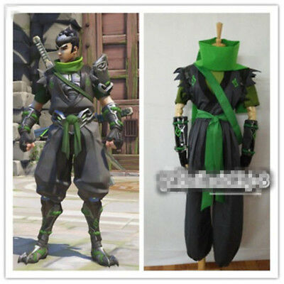 $ CDN100.77 • Buy New Genji Young Sparrow Genji Skin Uniform Cosplay Costume Full Set