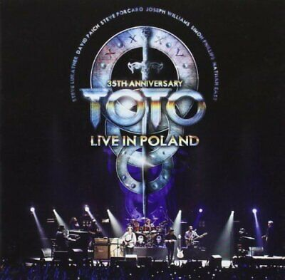 £9.05 • Buy Toto - 35th Anniversary Tour - Live In Poland [CD]