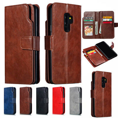 $ CDN7.99 • Buy For Samsung Galaxy A6 A8 2018 Flip Leather Wallet Card Holder Stand Case Cover