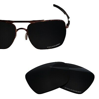 £14.71 • Buy BlazerBuck Polarized Etched Lens Replacement For-Oakley Deviation OO4061 Black