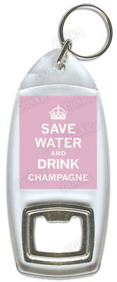 £2.99 • Buy Save Water And Drink Champagne – Bottle Opener