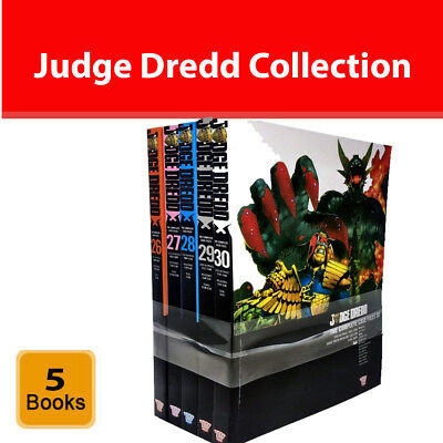 Judge Dredd: Complete Case Files Volume 26-30 Collection 5 Books Set Series 6 • 59.92£