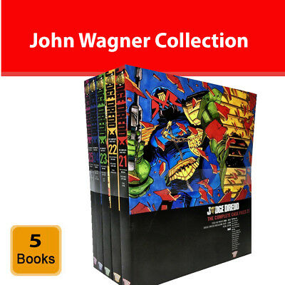Judge Dredd Complete Case Files Volume 21-25 Books Set John Wagner NEW Paperback • 56.33£
